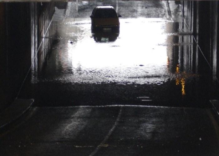 Subterráneo inundado Beniaján