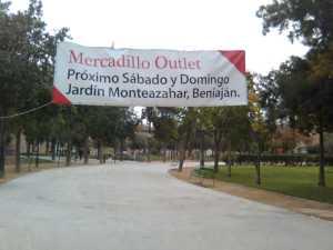 Mercadillo outlet jard n monteazahar life in beniajan - Outlet jardin ...
