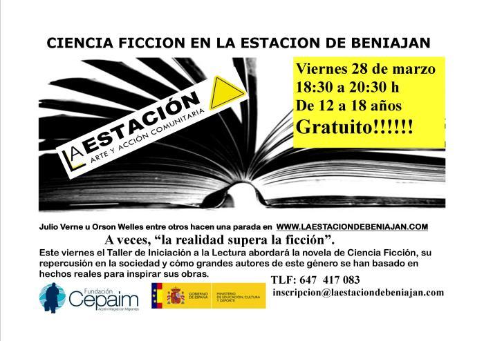 cartel taller literatura